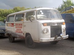 A Long Way From Home (occama) Tags: africa old uk bus vw volkswagen cornwall mexican ghana german scrapyard kombi type2 akuakrom