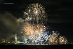 / [Explored] (yoko.wannwannmaru) Tags: 20160806dsc1392n fireworksdisplay chibashi chiba japan tokyobay nightview  buildings ballpark chibalottemarines qvcmarinefield outdoor 13