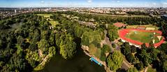 Battersea Park from the sky (ariusz) Tags: dji phantom 3 aerial photography battersea park from sky