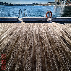 Pyrmont. (Bill Thoo) Tags: pyrmont sydney harbour sydneyharbour neesouthwales nsw australia landscape cityscape city wharf pier square sony a7rii samyang 14mm