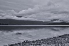 Loch Lomond BW (MatMat Brown) Tags: loch lomond landscape lake water scotland trossachs black white