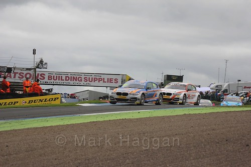 Sam Tordoff in BTCC race two at Knockhill Weekend 2016