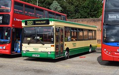 3238 Bromley Garage (KLTP14) Tags: dennis plaxton pointer 227 bromley maidstonedistrict p238mkn 3238 open day persevered