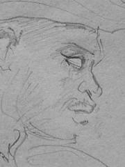 CHASSERIAU Thodore,1846 - Deux Arabes assis (drawing, dessin, disegno-Louvre RF24409-Recto) - Detail 40 (L'art au prsent) Tags: dtails details detalles detailsofartwork artwork thodorechassriau thodore chassriau chasseriau theodore france frenchpainter painter portrait head tte face visage body people men women man woman pose posture gracefulpose graceful grce grace origine origin jeunehomme jeunefemme homme hommes gracefulmen gracefulman orientaux oriental moyenorient middle east turban costume tradition costumetraditionnel traditionalcostume burnous sikh muslim musulman arab habit dress elegant lgant beauty beaut orientalism orientalisme orientaliste drawing drawings detailsofdrawing detailsofdrawings 19th century drawingsofmuslims orientalistdrawings portraitdrawingsofmenwearingturbans 1846drawings facingforward 19thcenturyportraitdrawingsofmen standingmen