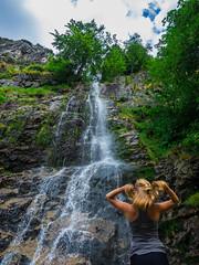 Cascade du pilat (floriansins) Tags: photographyislife beautifulnature beautifulplace beautifullandscape waterfall rock blondehair blondgirl nofilter olympus mzuiko1240mm