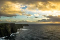 Golden hour Cliffs (matijato) Tags: countyclare ireland ie cliffs moher pentax k3ii k3 ii sigma 1020