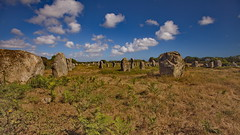 Menhirs in Carnac (Brittany) (brume2mer) Tags: alignements carnac bretagne morbihan balade bzh