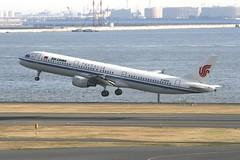B-6605 Airbus A321 HND 02Dec2012 (Citation Ten) Tags: b6605 a321 cca hnd