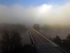 Road in the fog (ABDKHemings) Tags: drone dji fog