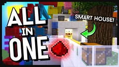 All In One Room Map 1.10.2/1.9.4 (TonyStand) Tags: minecraft game gaming 3d