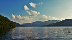 Loch Lomond (brightondj - getting the most from a cheap compact) Tags: scotland trossachs lochlomond loch water mountains clouds sky