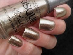 Risqu - Gold, James Gold (Barbara Nichols (Babi)) Tags: risqu goldjamesgold dourado gold goldnailpolish nails nailpolish
