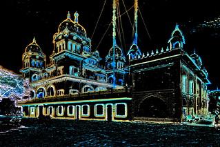 India - Rajasthan - Pushkar - Gurudwara (Sikh Temple) - 1b