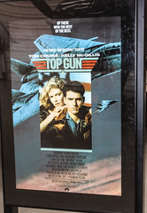 Poster from Top Gun Movie with Tom Cruise (Arthur Chapman) Tags: grummanf14atomcat grumman f14 tomcat topgun tomcruise pimaairandspacemuseum tucson arizona usa unitedstatesofamerica geocode:accuracy=100meters geocode:method=gps geo:country=unitedstatesofamerica