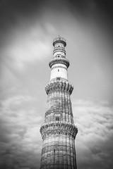 Qutub Minar (Ashmalikphotography) Tags: qutubminar mehroli architecture delhi guzrewaqtkibaatein oldtimes nightlife qutubnights longexposurephotography ashmalikphotography blackandwhite heights minar