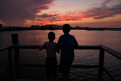The dock (ranzino) Tags: emerson jacob newjersey stoneharbor sunset bay bayside dock dusk nj silhouette vacation unitedstates us