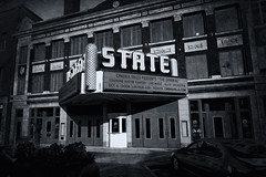 The State of Sioux Falls (Pete Zarria) Tags: southdakota theater cinema neon sign marquee movie film noir urban west city tresure