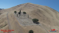 DU Rose Hill (bradleybennett) Tags: drone drones fly high quad copter blade 350qx3 remote control flying rose hill cemetery rosehill black diamond antioch dry drought trail trails cypress