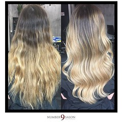 """A perfect cut and balayage by stylist, Jo; just in time for Fri-YAY! • <a style=""""font-size:0.8em;"""" href=""""http://www.flickr.com/photos/41394475@N04/30390753291/"""" target=""""_blank"""">View on Flickr</a>"""