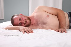 IMG_6689 (SpringTrippReilly-Life's Elements Photography) Tags: man male bed bedroom sheets duvet boudoir shirtless bare chest lifeselementsphotography wwwspringreillycom springreilly