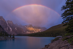 Moments Worth Being Up For ... (Ken Krach Photography) Tags: lakemoraine rainbow