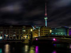 Festival of Lights (achim-51) Tags: nacht stadt wasser architektur fluss spree berlin licht de germany panasonic lumux dmcg5