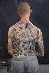 Reverse (l plater) Tags: piet michelangelo ritesofpassage2016 tattoofestival sydneyolympicpark