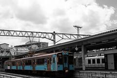 Aomori Station/ (V n Z Photography) Tags: aomori prefecture tohoku train railway diesel railcar    701  japan travel
