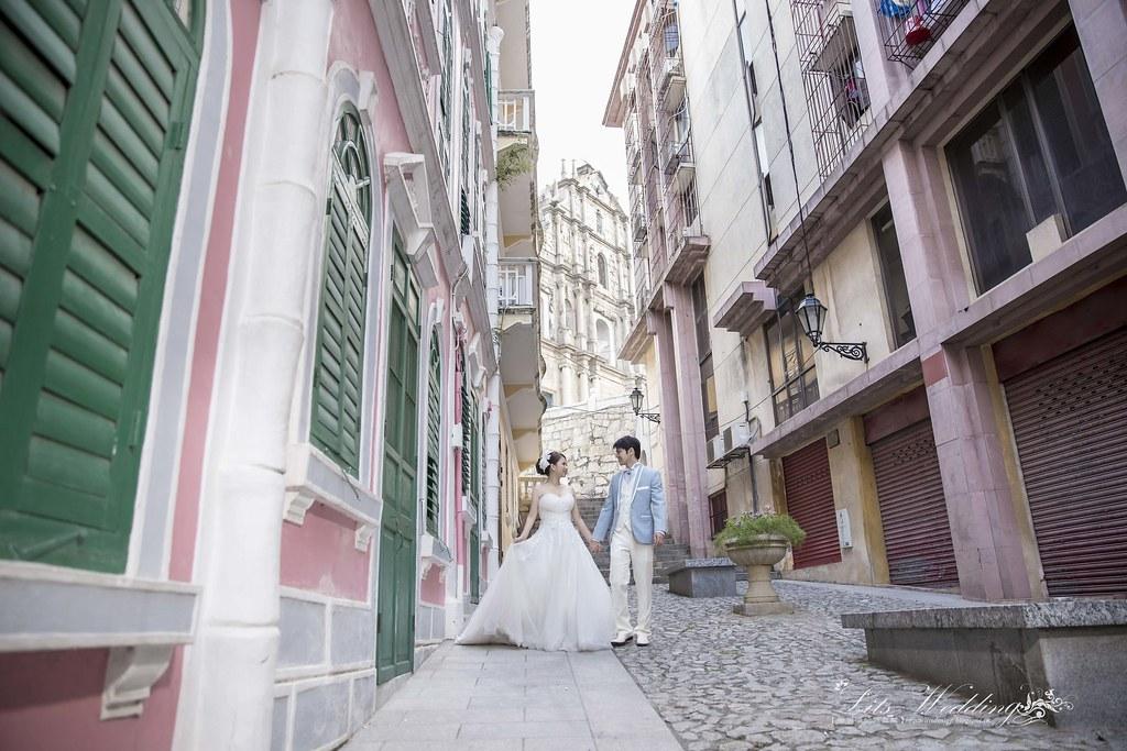 海外婚紗,婚紗,澳門自助婚紗拍攝,愛維伊婚紗工作室,澳門威尼斯人酒店,大三巴牌坊,澳門主教山,澳門旅遊塔