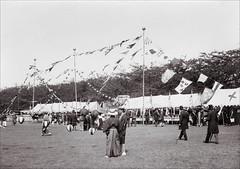 Yokohama (ookami_dou) Tags: beer festival japan vintage flags kirinbeer