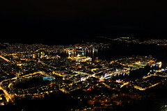 Bergen City at night (Kingsley's Ministry) Tags: