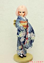 KIMONOnoMIRAI (KIMONOnoMIRAI Tsutae) Tags: castle doll kimono takara licca wafuku