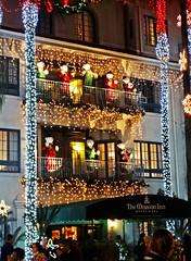 Mission Inn Lights 12-13-14m (inkknife_2000 (5.5 million views)) Tags: christmas usa christmaslights coloredlights festivaloflights riversideca missioninn dgrahamphoto decoratingwithlights
