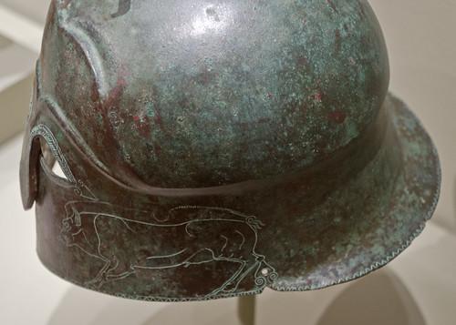 Bronze 'Apulo-Corinthian'- type helmet in Cleveland 2