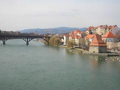 Maribor, Slovenia (Norbert Bnhidi) Tags: bridge slovenia slovenija slowenien marburg maribor eslovenia slovnie eslovnia sloveni szlovnia marburgo marburganderdrau eslovnia
