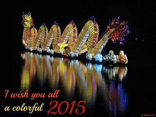 I wish you all a colorfull 2015