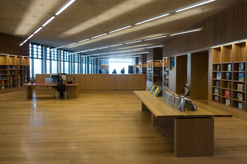 New Public Library In Dun Laoghaire, Officially Called DLR Lexicon Opened To The Public Today And It Is Worth Visiting Ref-100523