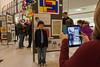 Student Art Exhibit (Phil Roeder) Tags: art students education stu iowa desmoines canon15mmf28 desmoinespublicschools