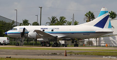 Miami Air Lease Inc. Convair 440 N41527 (birrlad) Tags: usa classic airplane airport florida miami aircraft aviation air airplanes cargo storage maintenance parked states executive 440 freight inc prop lease freighter opf convair opalocka n41527