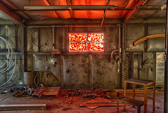 REDRUM (Kansas Poetry (Patrick)) Tags: lawrence kansas lawrencekansas redrum industrialart fertilizerfactory patrickemerson