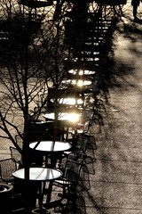 Morning Tables (ABCrowther) Tags: chairs tables