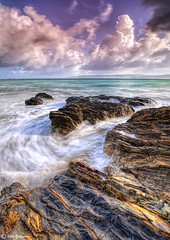 Rising Tide (kijimuna.) Tags: seascape beach rock japan canon wave  okinawa     eos6d