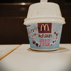 Favorite Menu. (aryo_muhict) Tags: mcdonalds mcflurry icecream vsco sonya5000