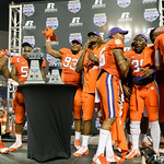 Russell Athletic Bowl Trophy Presentation and Celebration Photos
