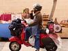 Afilador (calafellvalo) Tags: tractor verde green vespa trigo agricultura afilador ciclomotor vehículos esmolet