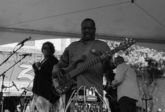 North Beach Festival (Adam Chin) Tags: sanfrancisco california bw jazz northbeach zeissikon ilfordfp4 zeissplanar50mm20