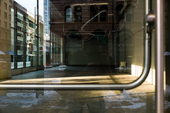 empty template (whlteXbread) Tags: morning winter reflection colorado downtown empty denver summicron storefront infrastructure glassdoor m9 2015 35mmf2 blankslate washbin