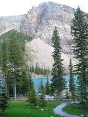 Morraine Lake 030 (whitswilderness) Tags: canada rockies glacier banff moraine morainelake columbiaglacier canadianrockies athabascaglacier glaciallake canadapark