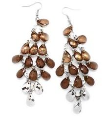 5th Avenue Brown Earrings P5312-2