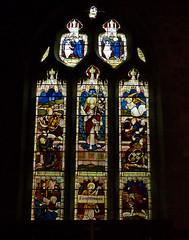Claines, Worcestershire, St John Baptist. (Tudor Barlow) Tags: winter england churches stainedglass worcestershire listedbuilding parishchurch claines gradeiilistedbuilding lumixfz200 clainessg